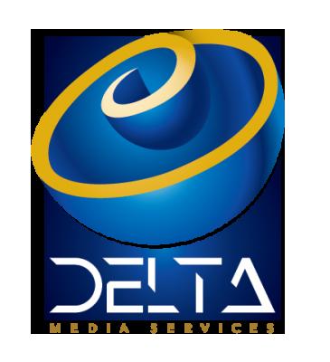 Delte Media Services Vertical Logo
