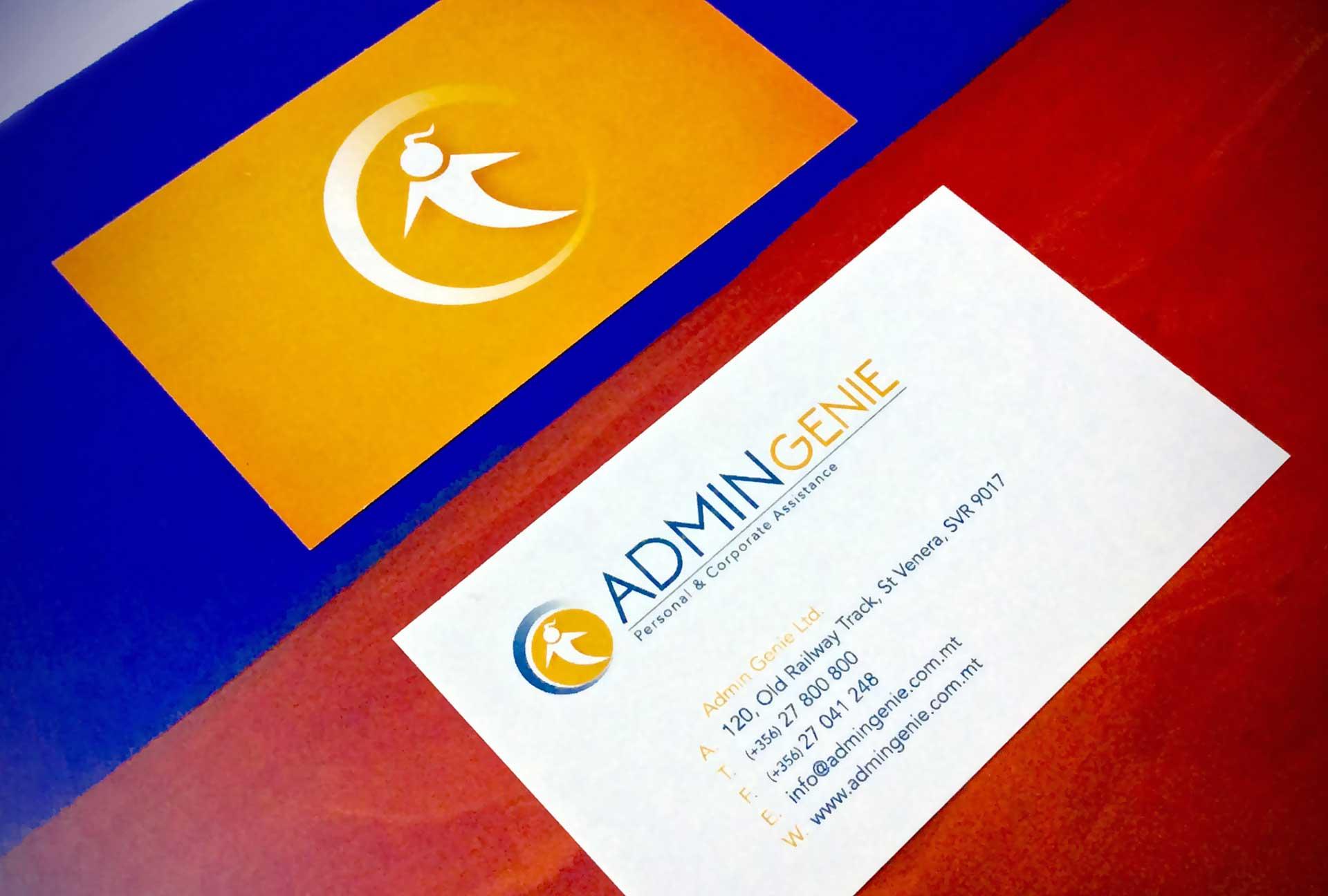Business Cards - Admin Genie