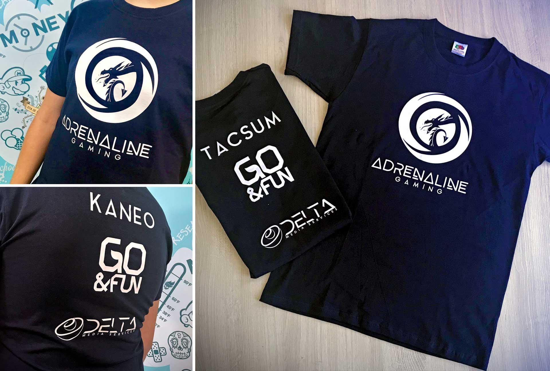 Uniform & Kits - Adrenaline Gaming Tshirt