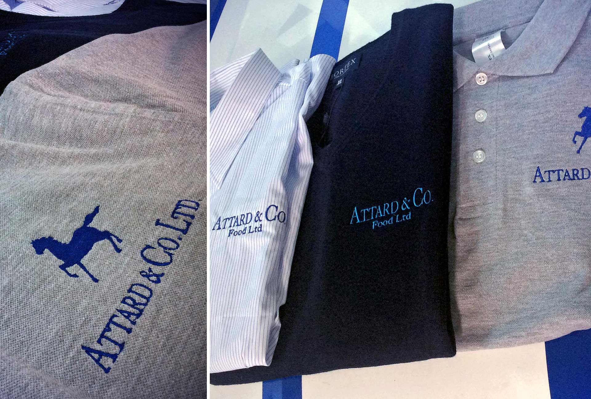 Uniform & Kits - Attard & Co. Poloshirts