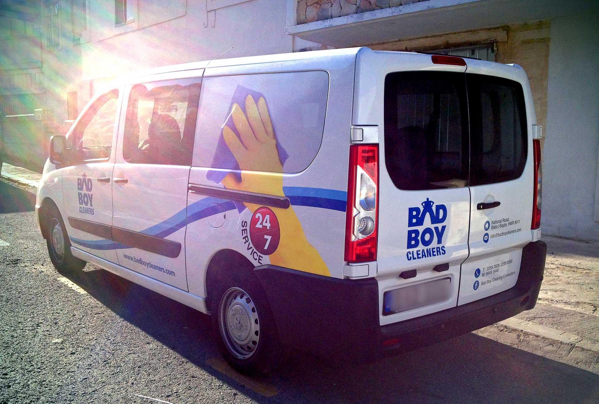 Vehicle Wrapping - Bad Boy Van