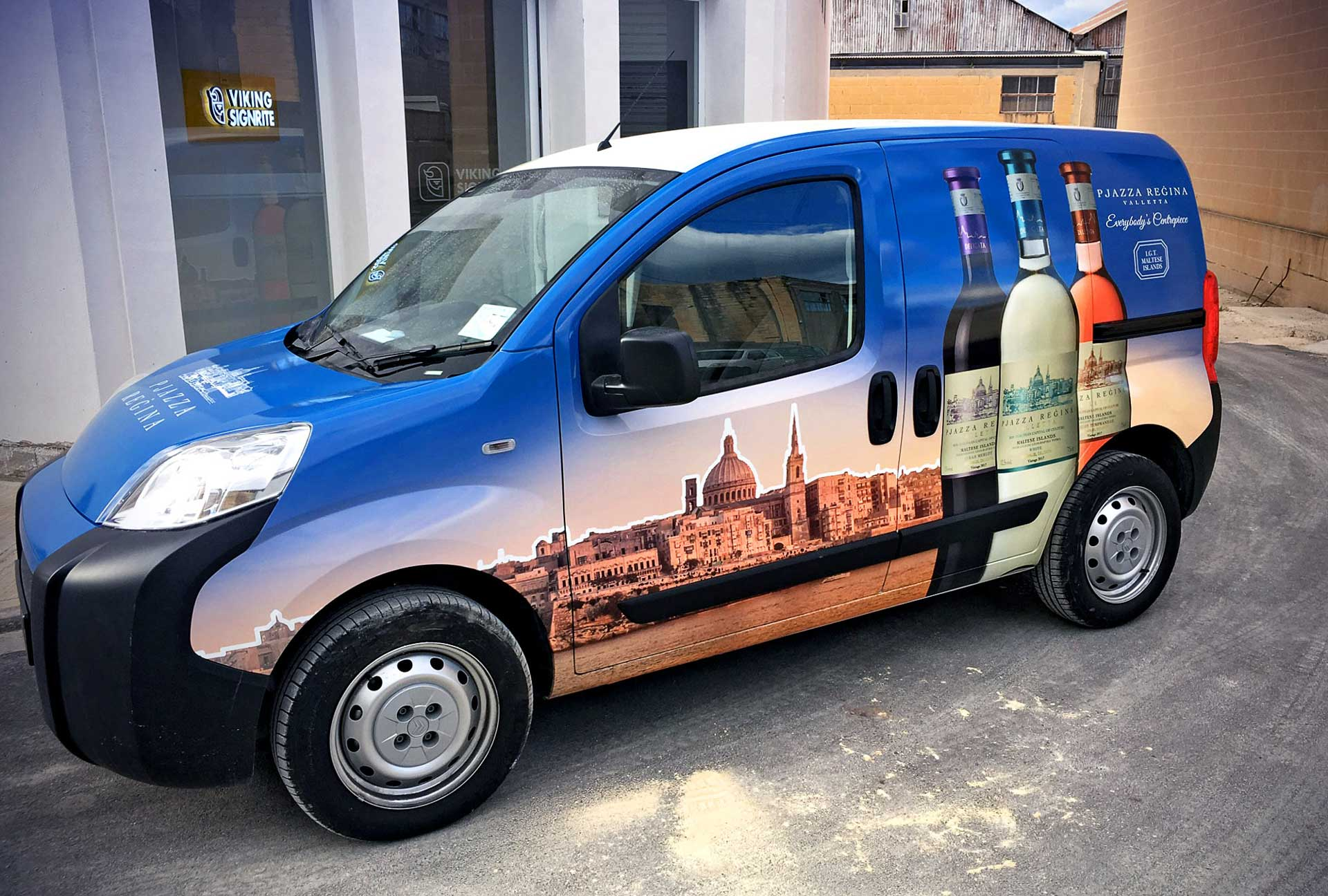 Vehicle Wrapping - Delicata Van