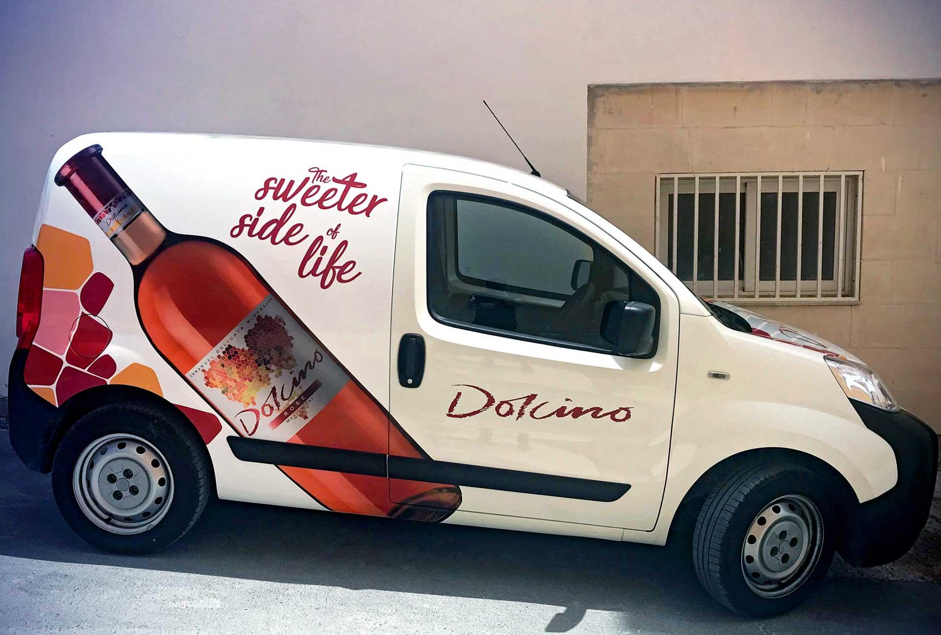 Vehicle Wrapping - Dolcino Van