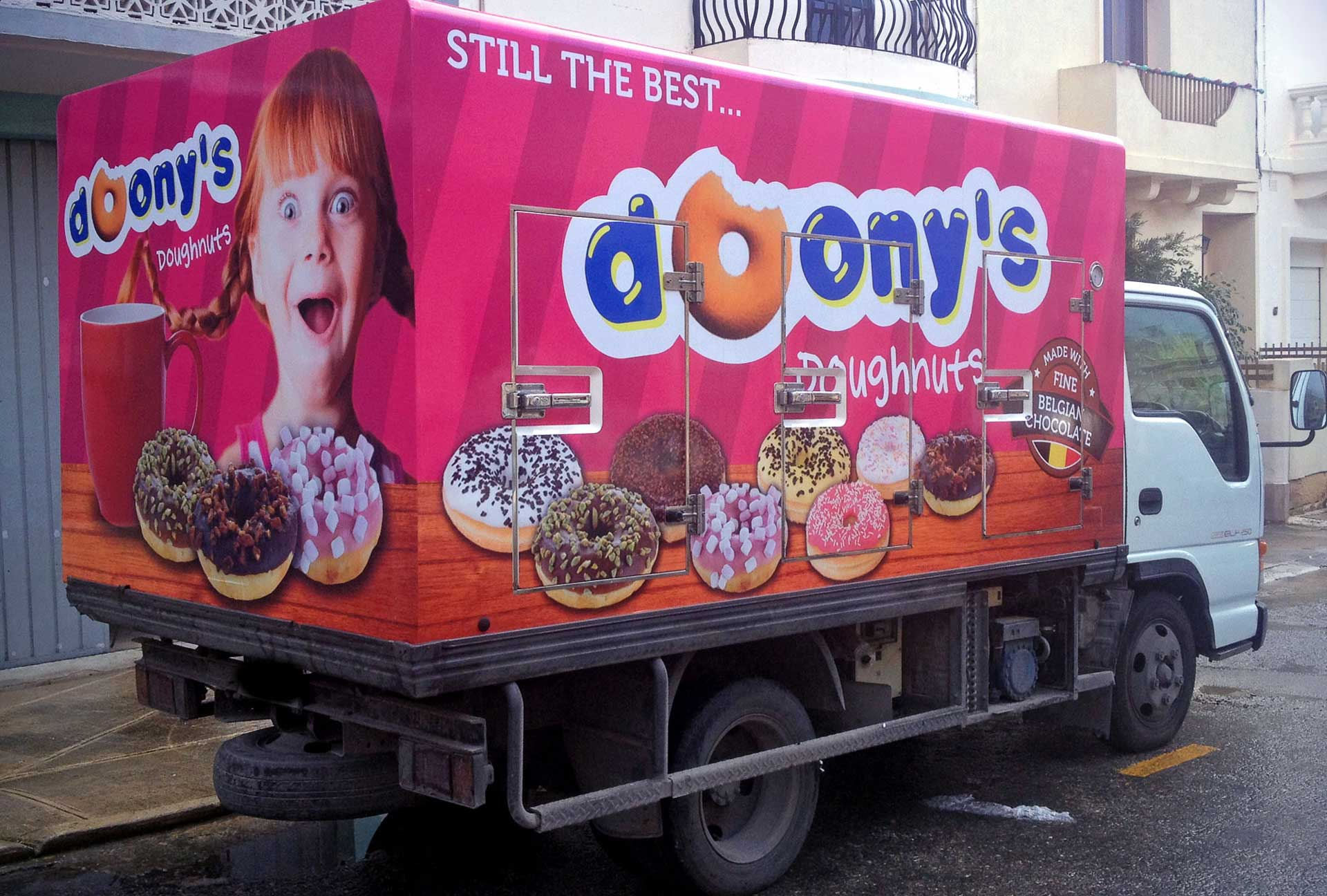 Vehicle Wrapping - Doony's Truck