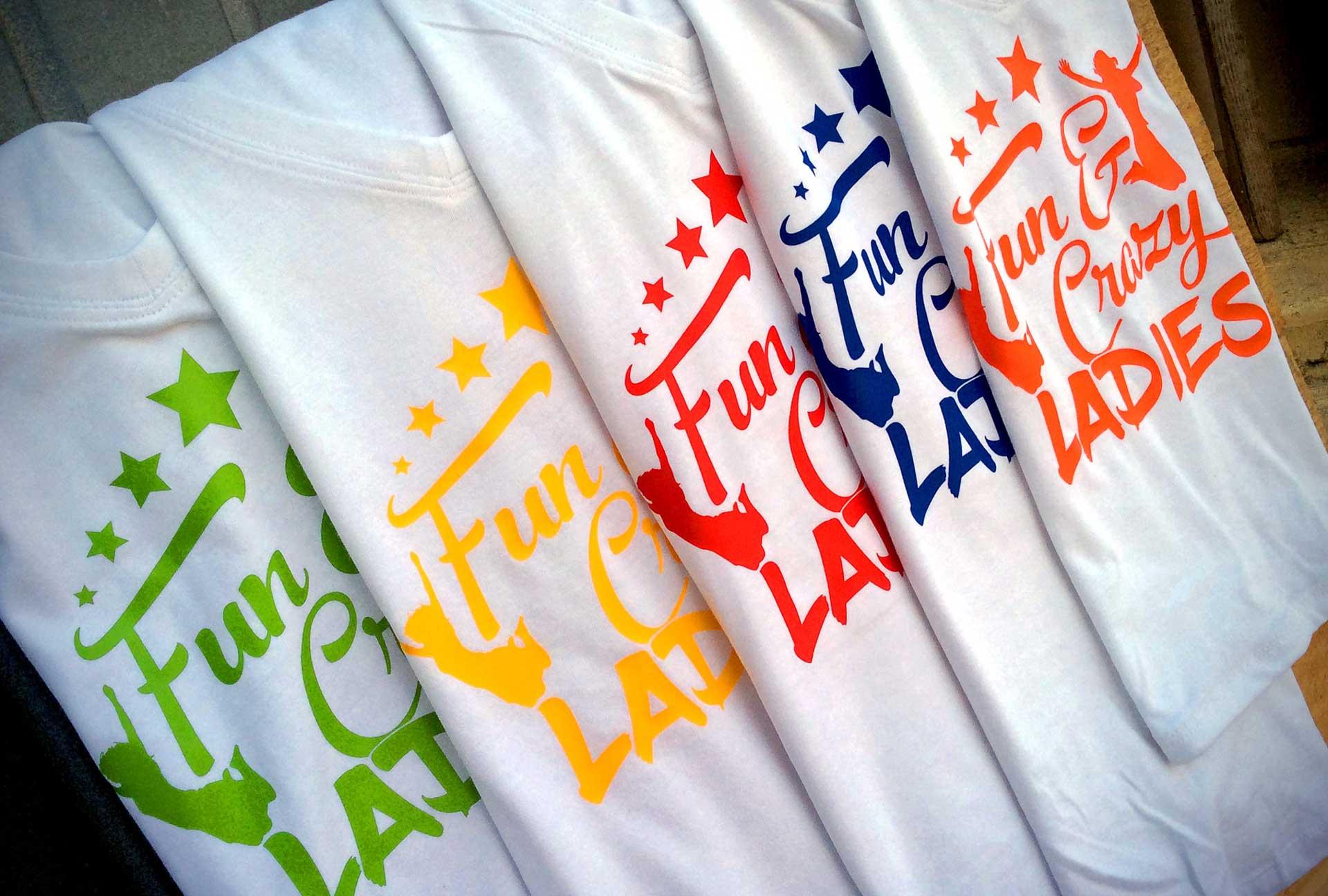 Uniform & Kits - Fun & Crazy Ladies Tshirt