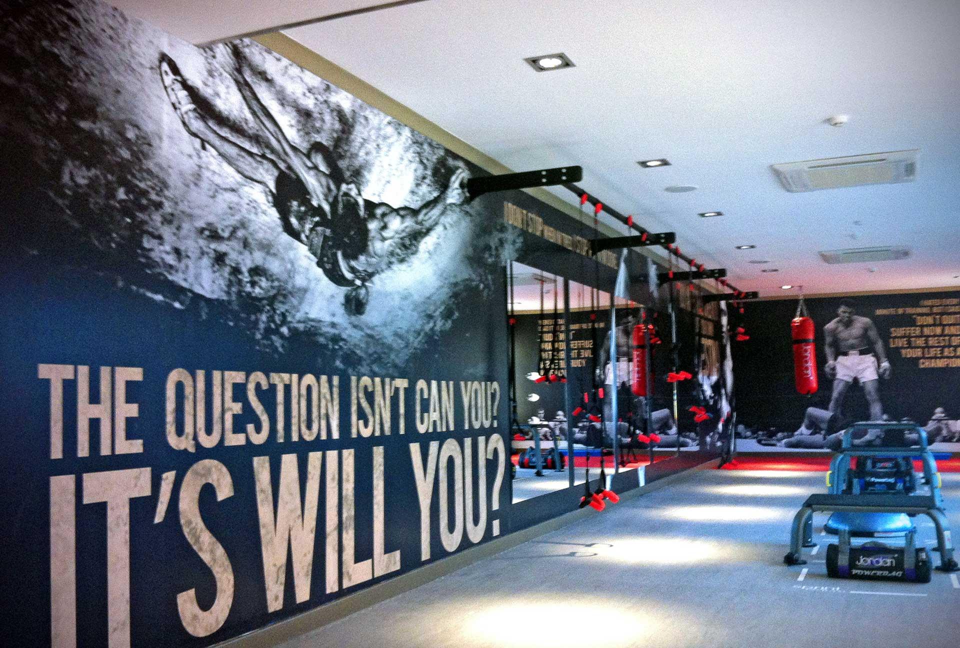 Wallpaper - Gym Wallpaper Artwork