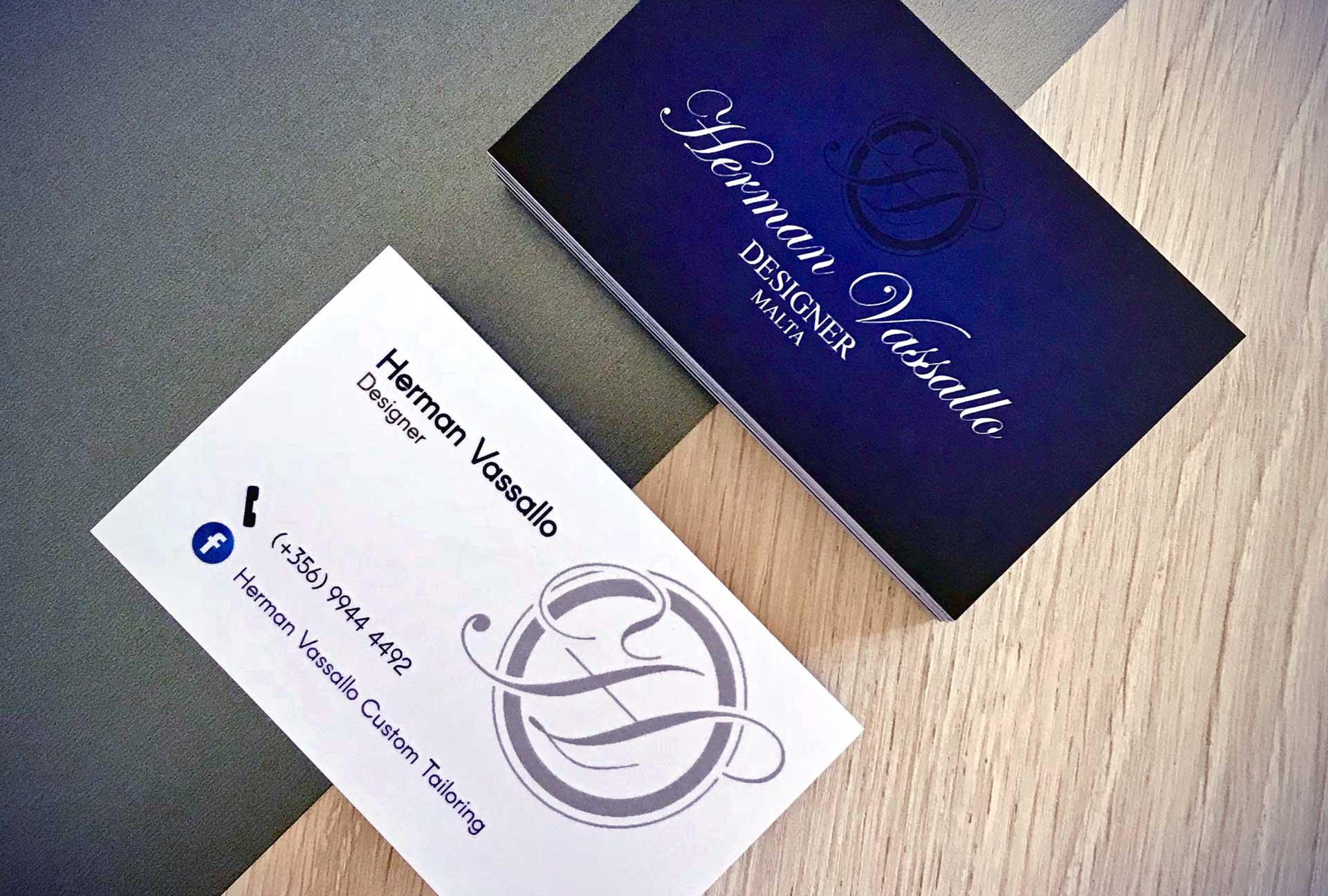 Business Cards - Herman Vassallo
