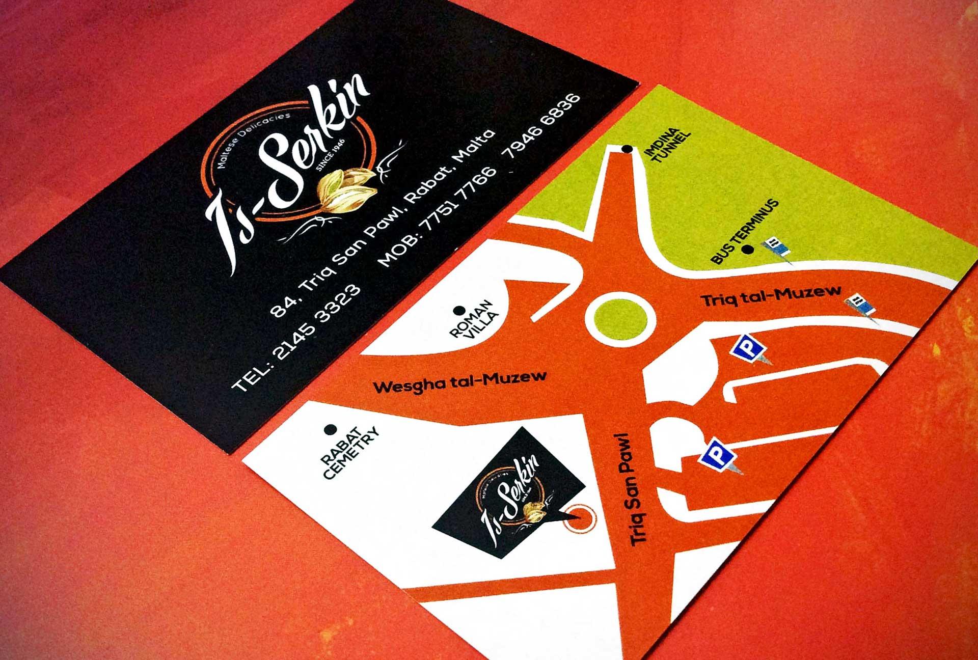 Business Cards - Is-Serkin