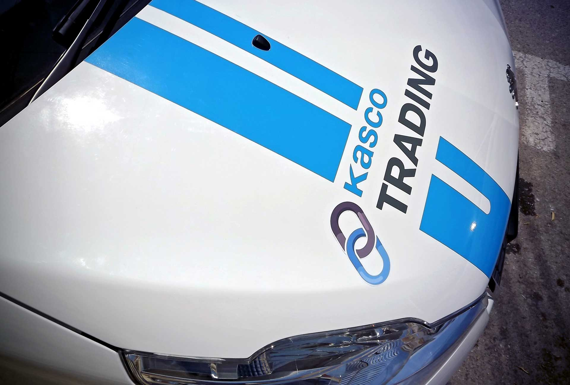 Vehicle Wrapping - Kasco Car