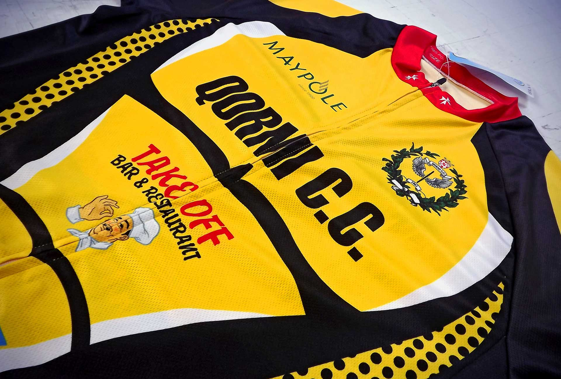 Uniform & Kits - Qormi C. C. Cycle Shirt