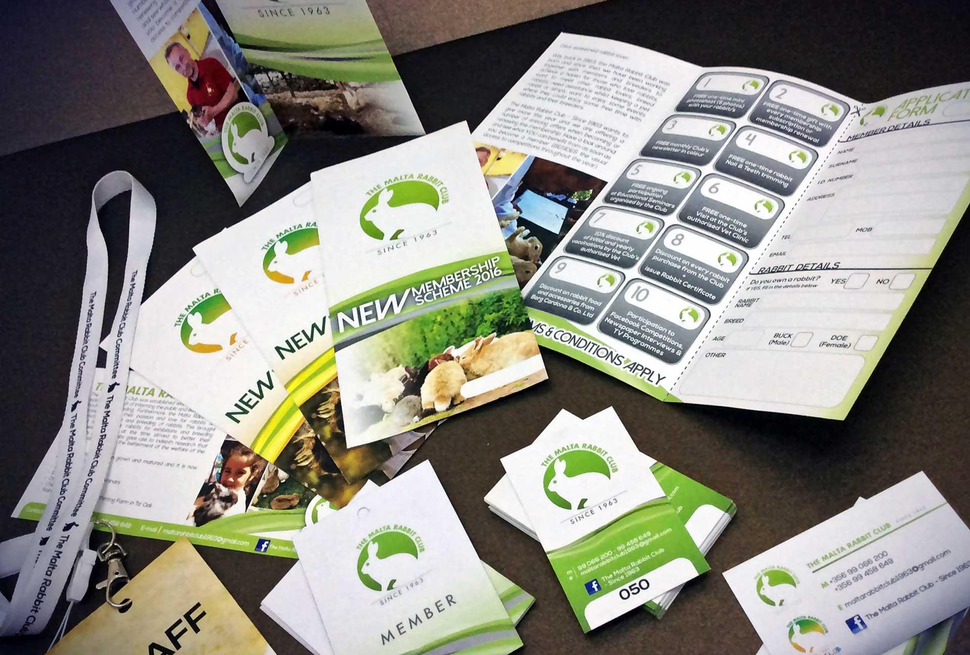 Booklets & Magazines - Rabbit Club