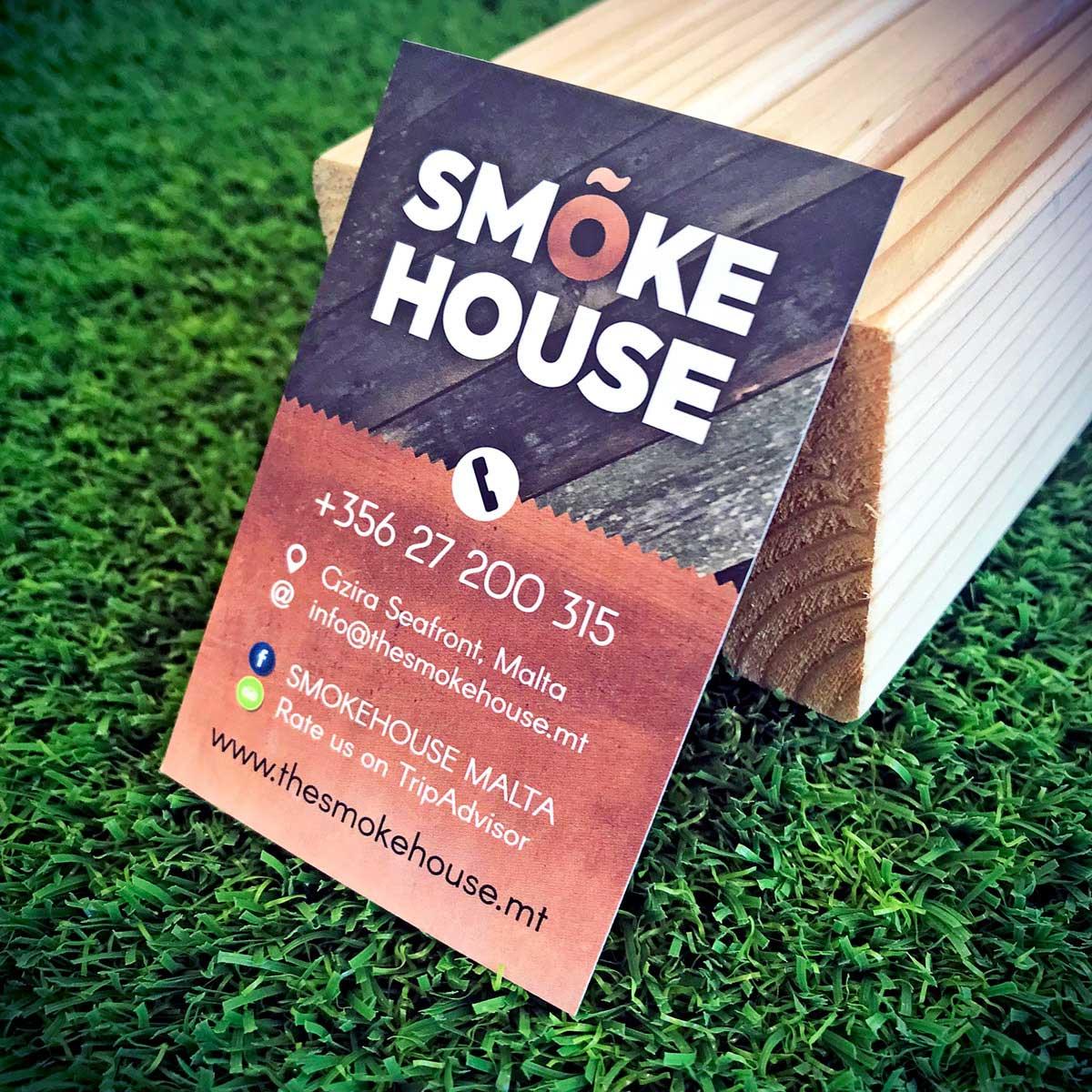 Business Cards - Smoke House