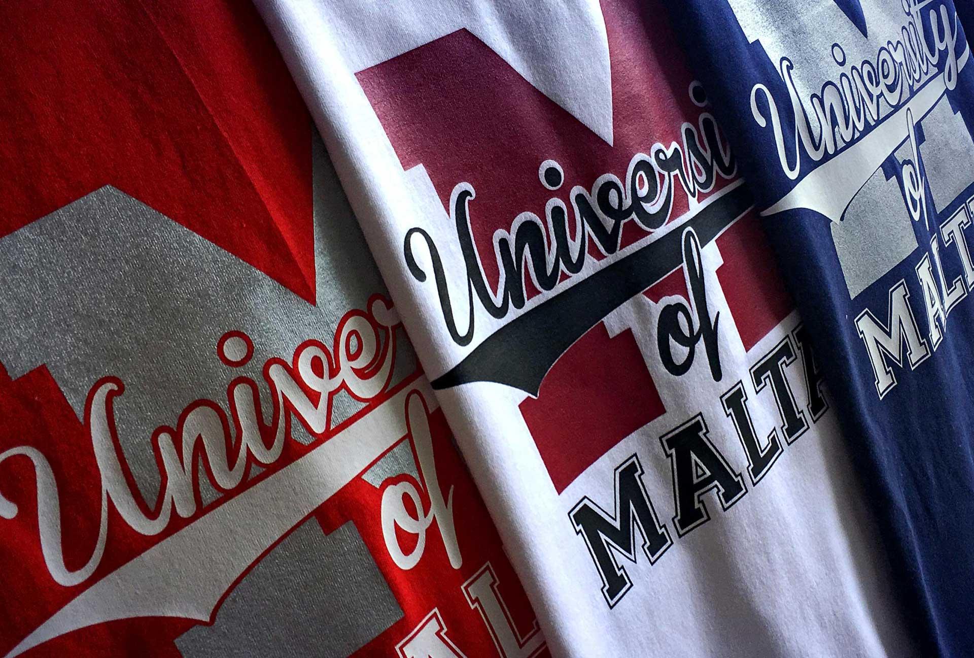 Uniform & Kits - University of Malta Tshirts