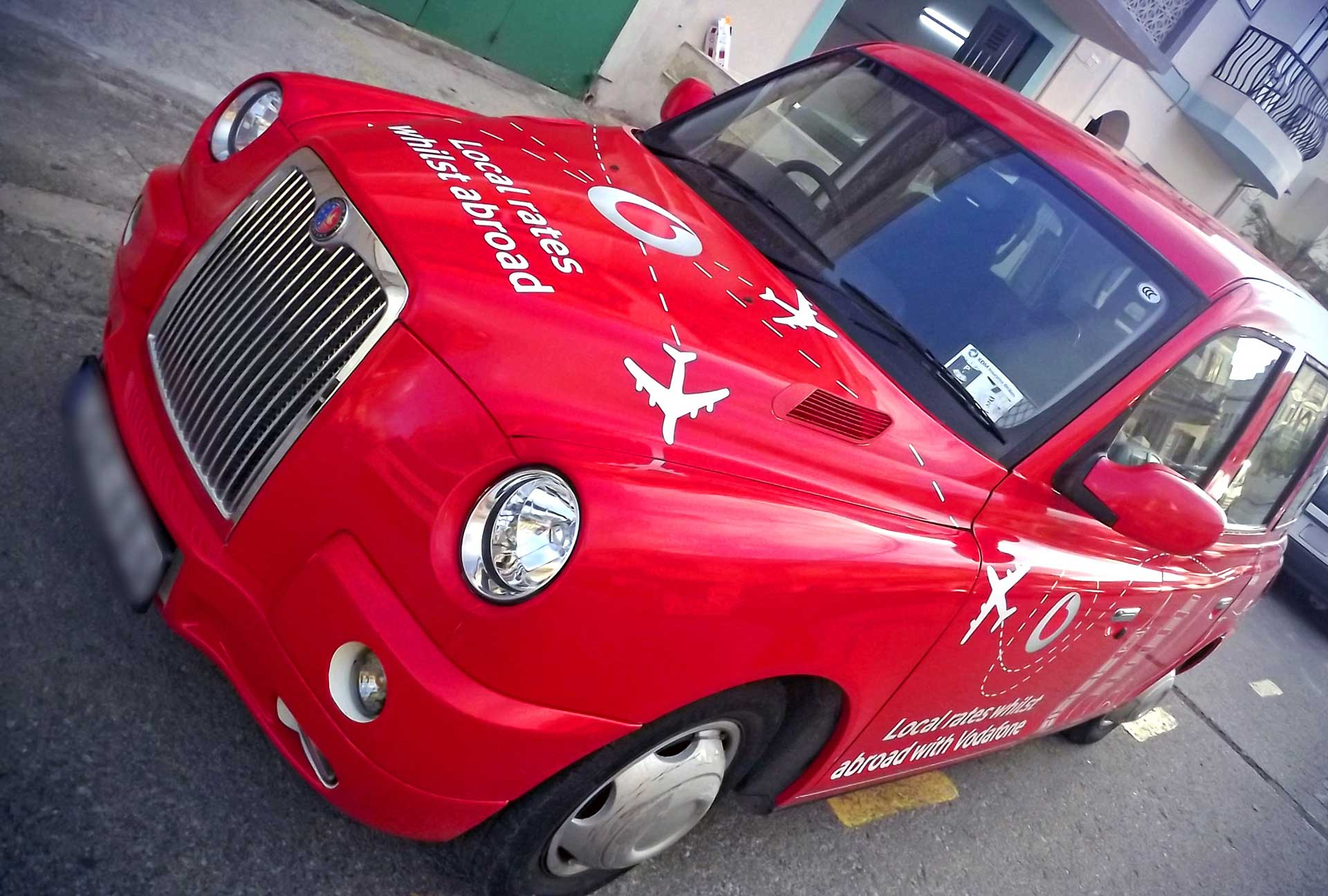 Vehicle Wrapping - Vodafone Car